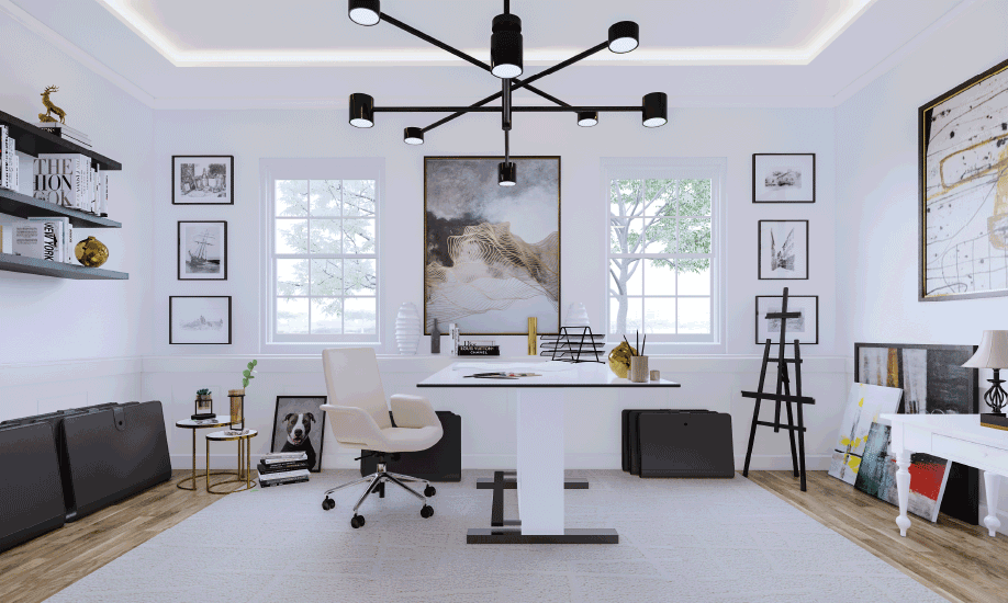 10 Tips for Home Workspace with Freedom