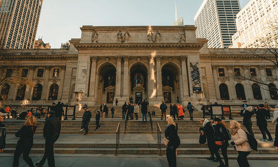 Mengenal Beaux-Arts melalui desain New York Public Library