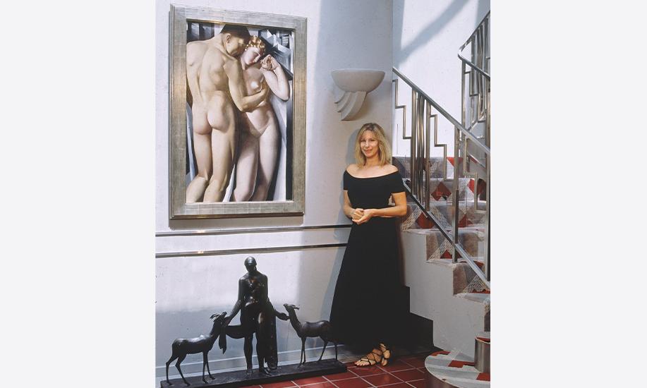 Intip Mewahnya Rumah Berlanggam Art Deco Ala Barbra Streisand