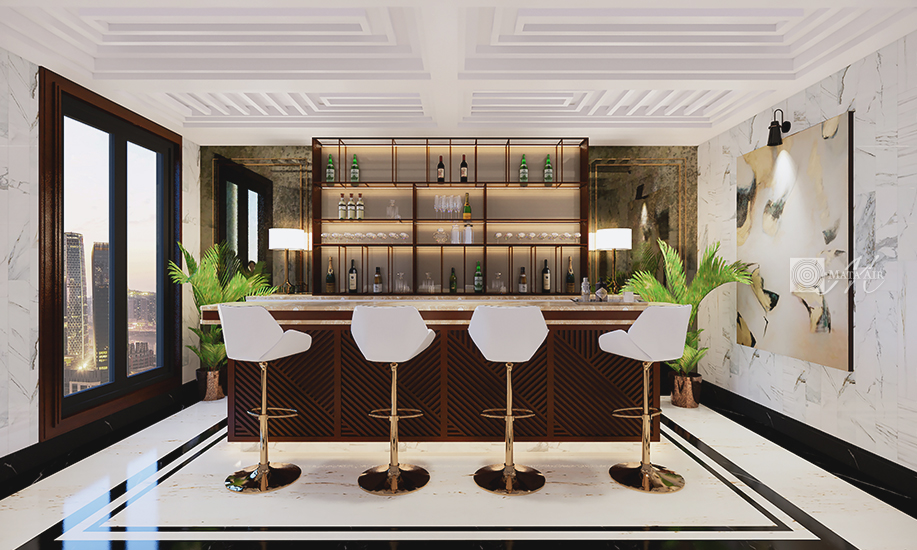 Home Bar freedom is ultimate luxury