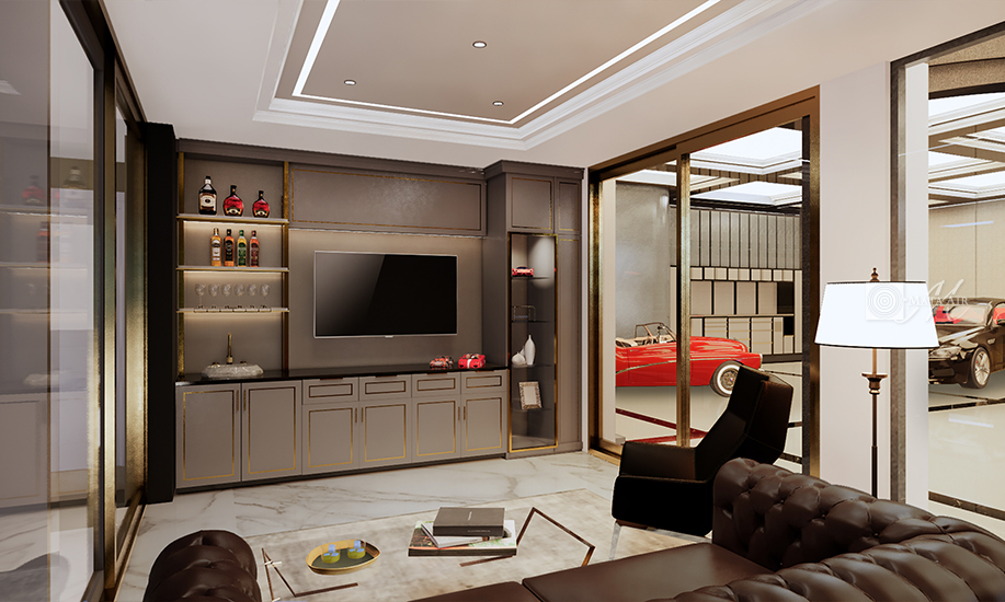 Man Cave freedom is ultimate luxury