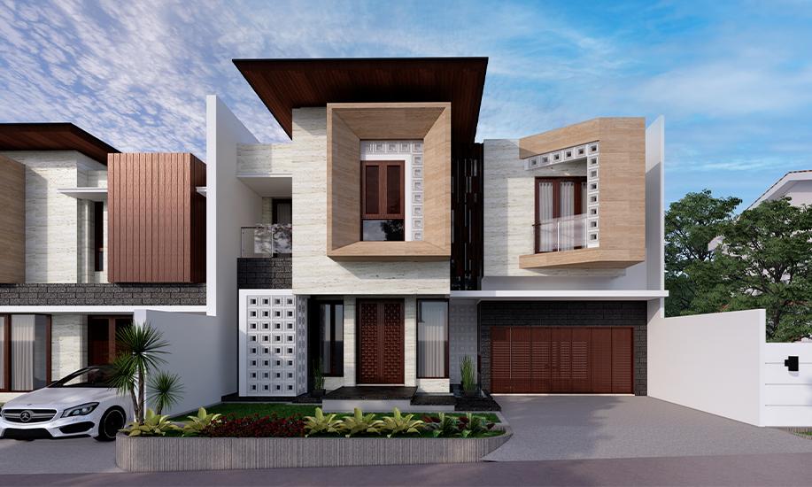 delman1 rumah modern