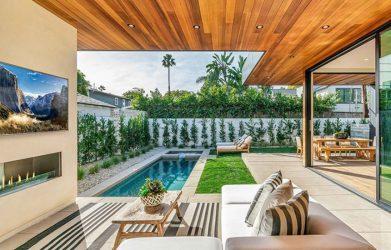 inspirasi desain patio Mata Air
