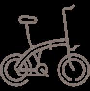 dapat sepeda brompton